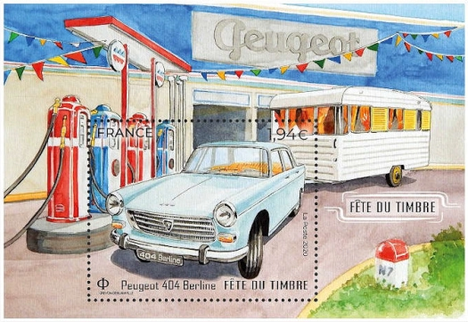 [Stamp Day - Classic Cars, Typ ]