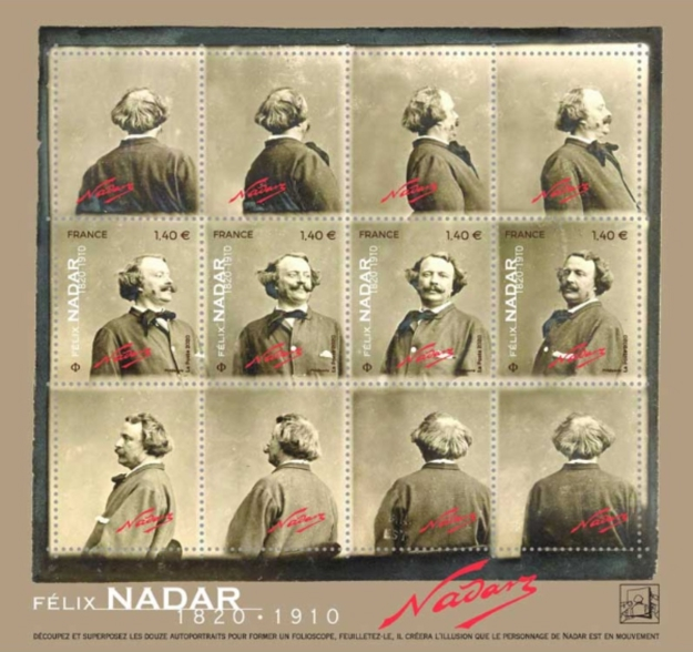 [The 200th Anniversary of the Birth of Gaspard-Félix Nadar, 1820-1910, Typ ]