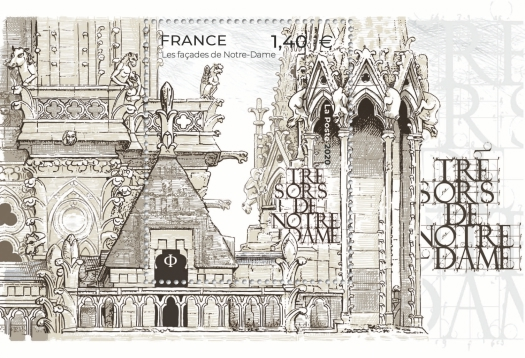 [Facades and Treasures of Notre Dame, type ]