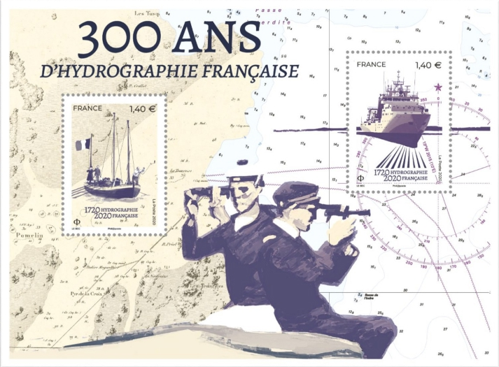 [The 300th Anniversary of French Hydrography, type ]
