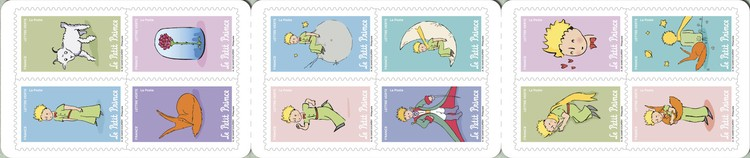 [The 75th Anniversary of the Little Prince, type ]