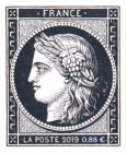[Céres - The 170th Anniversary of the First French Postage Stamp, type A18]