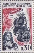 [The 300th Anniversary of the Colonisation of Réunion, Typ AMX]