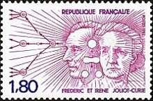 [Frédéric and Iréne Curie, type BPF]
