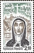 [The 400th Anniversary of the Death of St. Theresa of Avila, type BPV]