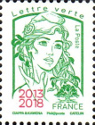 [Marianne - Stamps of 2013 & 2016 Overprinted
