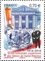 [The 200th Anniversary of MINES Saint-Étienne - French Graduate Engineering School, type HXB]