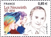 [The 50th Anniversary of the Neuwirth Legalized Birth Control Law of 1967 - Lucien Neuwirth, 1924-2013, type ICS]