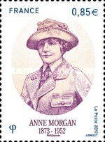 [The 65th Anniversary of the Death of Anne Morgan, 1873-1952, type IDG]