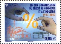 [The 100th Anniversary of the Credit Law of 1917, type IDP]