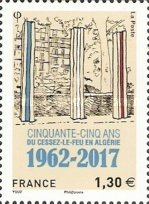 [The 55th Anniversary of the End of the Algerian War, type IDQ]