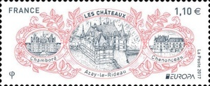 [EUROPA Stamps -  Palaces and Castles, type IJH]