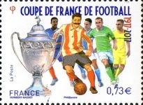[Football - The 100th Anniversary of the Coupe de France, type IJK]