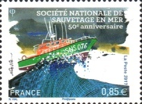 [The 50th Anniversary of the SNSM -  French Sea Rescue Society, type IJP]