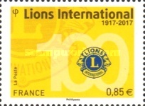 [The 100th Anniversary of Lions Clubs International, type IJQ]