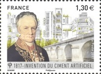 [The 200th Anniversary of the Invention of Artificial Cement by Louis Vicat, 1786-1861, type IKD]