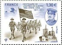 [The 100th Anniversary of USA Entering World War I, type IKG]