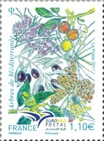 [EUROMED Issue - Trees of the Mediterranean, type ILA]