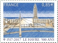 [The 500th Anniversary of the Port and City of Le Havre, type ILO]