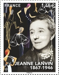 [The 150th Anniversary of the Birth of Jeanne Lanvin, 1867-1946, type IMF]