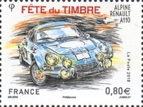 [Stamp Day - Race Cars, type IPN]