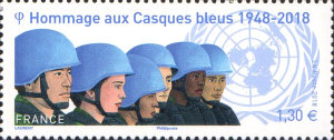 [The 70th Anniversary of the First UN Peacekeeping Mission, type IRH]