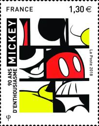 [Comic Figures - The 90th Anniversary of Mickey Mouse, type IUS]