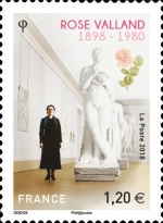 [The 120th Anniversary of the Birth of Rose Valland, 1898-1980, type IVB]