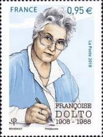 [The 110th Anniversary of the Birth of Francoise Dolto, 1908-1988, type IVC]