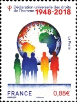 [The 70th Anniversary of the Universal Declaration of Human Rights, type IWU]
