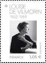 [The 50th Anniversary of the Death of Louise de Vilmorin, 1902-1969, type IXY]