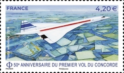 [The 50th Anniversary of the First Flight of the Concorde, type IYN]