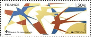 [EUROPA Stamps - National Birds, type JAD]