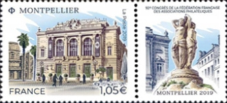[The 92nd Congress of the French Federation of Philatelic Associations, type JBN]