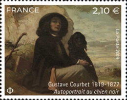 [Paintings - The 200th Anniversary of the Birth of Gustave Courbet, 1819-1877, type JBO]