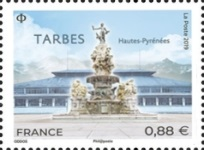 [Cities of France - Tarbes, type JBQ]