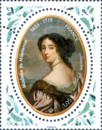 [The 300th Anniversary of the Death of Madame de Maintenon, 1635-1719, type JBS]