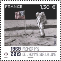 [The 50th Anniversary of the Apollo 11 Mission to the Moon, type JCG]