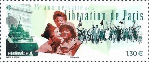 [World War II - The 75th Anniversary of the Liberation of Paris, type JCT]