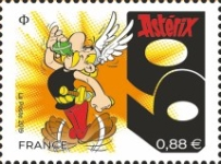 [Comics - The 60th Anniversary of Astérix, type JCV]