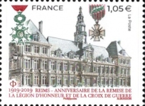 [Reims - The 100th Anniversary of the Presentation of the Legion of Honor and the Croix de Guerre, type JEX]