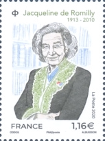 [The 10th Anniversary of the Death of Jacqueline de Romilly, 1913–2010, Typ JGO]