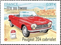 [Stamp Day - Classic Cars, type JHL]