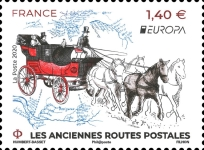 [EUROPA Stamps - Ancient Postal Routes, type JIS]