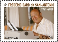 [The 20th Anniversary of the Death of Frédéric Dard, 1921-2000, type JJR]