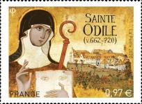 [The 1300th Anniversary of the Disappearance of Sainte Odile, 662-720, type JKD]
