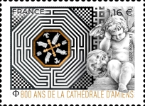 [The 800th Anniversary of Amiens Cathedral - Cathédrale Notre-Dame d'Amiens, type JKI]