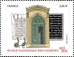 [The 200th Anniversary of the National School of Charters, type JPK]