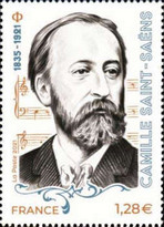 [The 100th Anniversary of the Death of Camille Saint Saens, 1835-1921, type JPP]