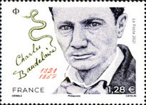 [The 100th Anniversary of the Birth of Charles Baudelaire, 1821-1867, type JQI]